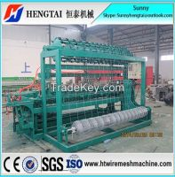 Full Automatic Easy To Operate Grassland Fence Wire Mesh Weaving Machine