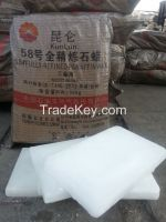 Fully,Semi Refined paraffin wax with low oil content,KunLun Brand,candle making material