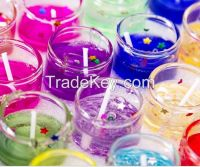 Decorative aromatic Candle,Fully refined paraffin wax