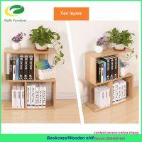 wooden bookcase