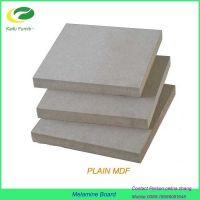Plain MDF/raw mdf/fibreboards supplier