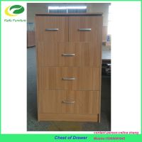 living room New product melamine particle board chest of drawers