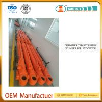 Hydraulic parts for engneering machinery, made in China, Hdraulic cylinder for loaders, forklifts