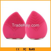 Electricity silicone anion face cleansing brush