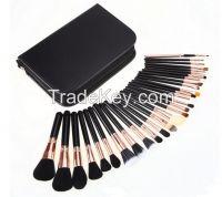 hot sell 29pcs professional makeup brushes set with makeup bag