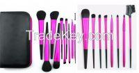 11pcs professional makeup brushes set accept OEM