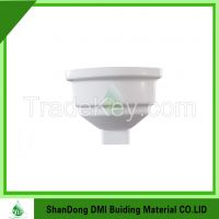 Villa PVC rain water system plastic 65 degree elbow for PVC gutter fittings direct factory price