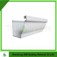 China Factory sale pvc rain gutter with Soncap certification