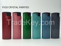 Rubber Triangular Electronic Lighter