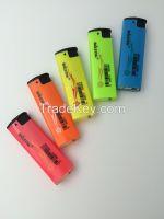 Metal color Triangular Electronic Lighter