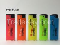 Oval Turbo Metal Lighter