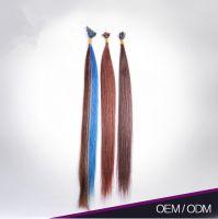 Most Popular I Tip Heathy 100% Remy Human Hair Keratin Tape Hair Extension