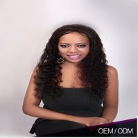 Good Touch Feeling Unprocessed African American Lace Wigs