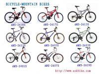 bicycle-mountain bikes