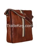 Leather Crossbody Messenger Bag For Men