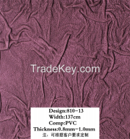 knitted 3d wall paper pvc bonded leather