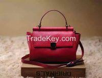 I-17 high quality pu genuine leather lady handbag wholesale factory OEM ODM