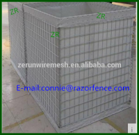 Hot sale hesco barrier for system with a defensive barrier of Explosion-proof wall