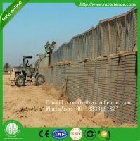 Factory Supply Hesco Barrier Price, Military gabion welded hesco