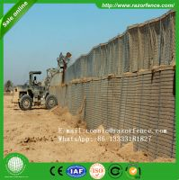 Welded wire rope mesh gabion bastio and hesco barrier in chinese market