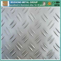 2017A tear drop aluminum stair tread plate checker plate one bar floor plate