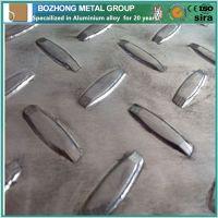 Best Price 5754 Aluminium Checkered anti-slip Plate