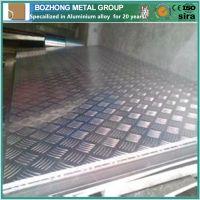 High quality 6082 Aluminium Checkered Plate