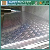 Bozhong best price 6182 Aluminium Checkered Plate