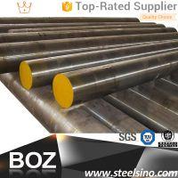Black/Peeled DIN1.2311 Plastic Mould Steel round bar 10mm-1200mm