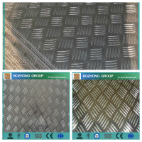 5754 aluminum alloy checkered sheet price per kg on hot sale