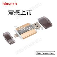Himatch 16g/32g/64G/128g USB 3.0 and Lightning Connector/Interface Fla