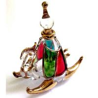 Best High Quality Egyptian Pyrex Handmade Perfume Bottles 24K Gold