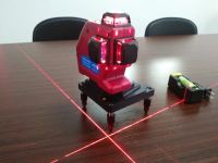 DOVOH 12 Lines 3D laser level  DLL3-360S  120mw Red Strong Laser Beam