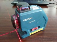 DOVOH 12Lines 3D laser leveling DLL3-360 CLASSIC  Red Beam 20mw