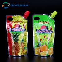 Plastic stand up pouch for juice