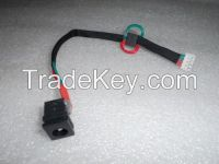 NEW Toshiba Satellite A105 Series Jack DC For Laptop DC Jack with Cable (165mm)