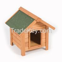 Hot selling custom made outdoor large wooden dog house