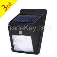 Solarmks Solar Lights 12 LED Solar Powered Wireless Security Light Wat