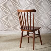 Solid Wood Dining Chair Windsor Chair Slat Chair