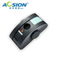 Aosion multifunctional pest repeller electromagnetic waves anion ultrasonic air purifierDesign Patent No.:ZL 2011 3 0006604.4   Adopting the most advanced pest control technology,not only repel various of pests, but also can make it as a air purifier, it
