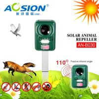 Widely use for garden farm outdoor ultrasonic solar animal pest repellers factory