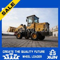 Small construction machine 1.6 ton 0.8CBM ZL20 mini wheel loader with CE