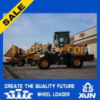 Small construction machine 1.6 ton 0.8CBM ZL20 mini wheel loader with CE
