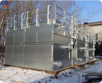 125 Ton Superdyma Closed Circuit Cross Flow GHM-125 Not FRP Wet Cooling Equipment