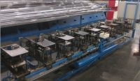 non-frost refrigerator evaporator production line