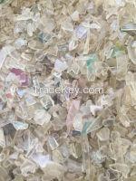 PC Scraps, crushed plastic granules