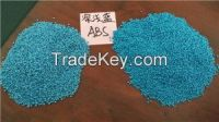 ABS granules-dark and light blue color ABS