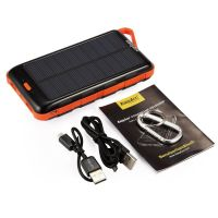 EasyAcc 15000mAh Solar Panel Power Bank