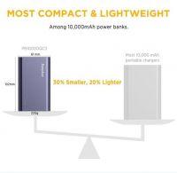 EasyAcc Quick Charge 3.0 External Battery Packs 10000mAh Power Bank