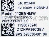 T420 Wireless Mini Pcie Half Card Wifi Network Fru 60y3241 Laptop Y460 B460 Z460 G460 Z560 Y560 G560 B560